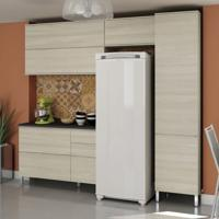 Cozinha Compacta Versatti I Creme Nacre