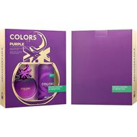 Kit Perfume Feminino Colors Purple Benetton Eau De Toilette 80Ml + Desodorante 150Ml - Feminino-Incolor
