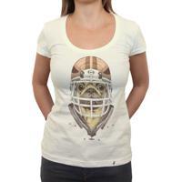 American Football Pug - Camiseta Clássica Feminina
