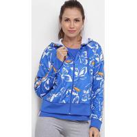 Jaqueta Adidas Farm Graphic Butterfly Feminina - Feminino-Azul