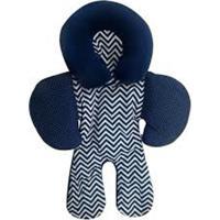 Apoio De Corpo Reversível Para Bebê Conforto Chevron Marinho