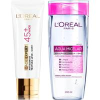 Kit Creme Anti-Idade L'Oréal Paris Idade Expert 45 + Água Micelar L'Oréal Paris 200Ml - Feminino