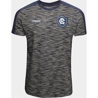 7504fe55c0 Netshoes  Camisa Remo Concentração Torcedor Topper Masculina - Masculino
