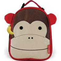 Lancheira Skip Hop Zoo Macaco 212103 | Cor: Marrom