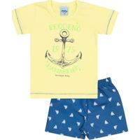 Conjunto Serelepe Kids Pequeno Marinheiro - Masculino
