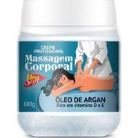 Creme De Massagem Corporal Bio Soft Óleo De Argan 680G