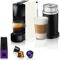 Máquina De Café Nespresso Essenza Mini C30 Branca Com Aeroccino 3 127
