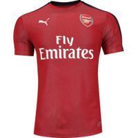 0dd289caf23a2 Camisa Pré-Jogo Arsenal 18 19 Puma - Masculina - Vermelho Azul Esc