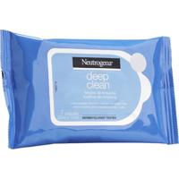 Lenço De Limpeza E Demaquilante Neutrogena Deep Clean 7 Unidades