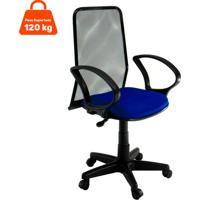 Cadeira De Escritório Diretor Fantasy Azul