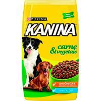 Ração Para Cães Kanina Adultos Sabor Carne & Vegetais 18Kg