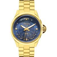 ... Relógio Technos Crystal Feminino - Feminino-Dourado a2cc32eeda