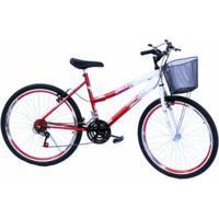 Bicicleta Aro 26 Onix Caero 18V,Pneu Slik - Unissex