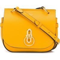 Mulberry Bolsa Transversal Amberley Pequena - Amarelo