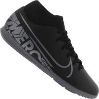Chuteira Futsal Nike Mercurial Superfly 7 Club Ic - Adulto - Preto/Cinza