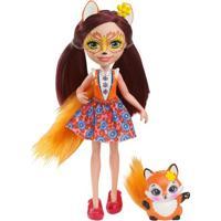 Boneca Fashion E Pet - Enchantimals - Felicity Fox - Mattel - Feminino-Incolor