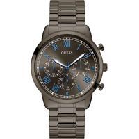 Relógio Guess Masculino Aço Chumbo - W1309G3