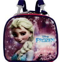 Lancheira Infantil Frozen Soft Rosa Dermiwil
