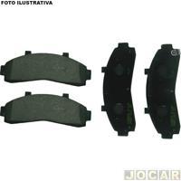 Pastilha Do Freio - Bosch - L-200 1996 Até 2006 - Akebono - Dianteiro - Jogo - Pb-415-0986Bb0315