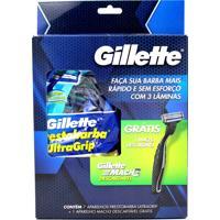 Aparelho Barbear Gillette Prestobarba Ultra Grip Descartável