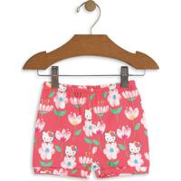 Short Hello Kitty® Floral- Rosa & Brancohello Kitty