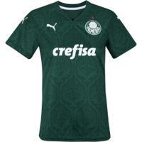 Camisa Do Palmeiras I 2020 Puma - Feminina - Verde
