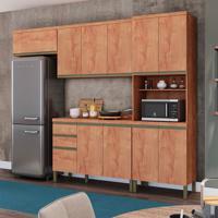 Cozinha Compacta Chardonnay I 11 Pt 2 Gv Castanho