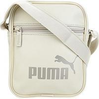 Bolsa Puma Core Up Portable - Unissex-Areia
