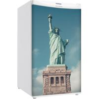 Adesivo Sunset Adesivos Frigobar Decorativo Porta Estátua Liberdade