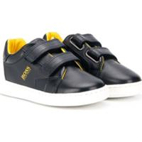 Boss Kids Touch Strap Logo Sneakers - Azul