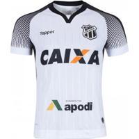 Netshoes  Camisa Topper Ceará Ii 2017 Nº10 Masculina - Masculino 70bc7e5b6bece