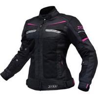 Jaqueta X11 Breeze Impermeável Motociclista Com Proteções Feminina - Feminino