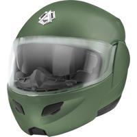 Capacete Tipo Robocop Pro Tork Attack Elite Vintage Green