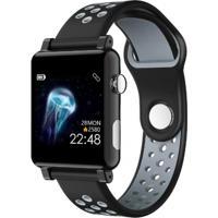 Smartwatch B71 Relógio Inteligente Pedômetro À Prova D' Água Sono - Cinza