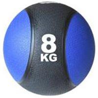 Bola Medicinal Medicine Ball 8Kg Ahead Sports Preto