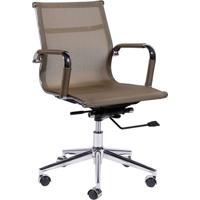 Cadeira Office Eames Em Tela- Cobre- 59X54,5X46,5Cm