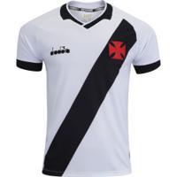 Camisa Do Vasco Da Gama Ii 2019 Diadora - Masculina - Branco