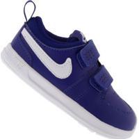 Tênis Para Bebê Nike Pico 5 Td - Baby - Azul Esc/Branco