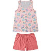 Pijama Malwee 1000073387 B590A-Salmao