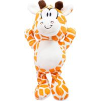 Pelúcia Minas De Presentes Girafa Laranja - Kanui