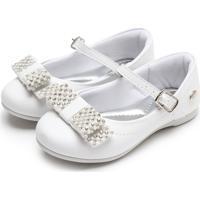 Sapatilha Klin Princesa Baby Branco