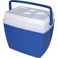 Caixa Térmica Mor, 34 Litros - Azul