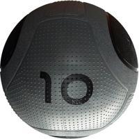 Bola Para Exercicios Medicine Ball Md Buddy 10Kg Md1275 Cinza