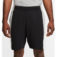 Short Nike Jersey Club Masculino - Masculino-Preto+Cinza