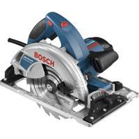 """Serra Circular Industrial Bosch Gks 65 Gce, 7.1/4"""", 1800 Watts, 220 Volts"""