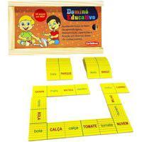 Jogo Educativo Para Alfabetização Infantil Dominó De Palavra