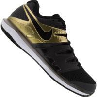 Tênis Nike Air Zoom Vapor X Hc - Masculino - Preto/Ouro