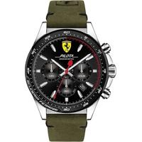 Relógio Scuderia Ferrari Masculino Couro Verde - 830433