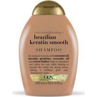 Shampoo Ogx Brazilian Keratin Smooth 250Ml - Feminino-Incolor
