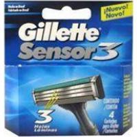 Carga Gillette Sensor3 4 Unidades